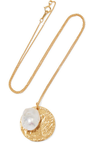 Alighieri - The Remedy Chapter Ii Gold-plated Pearl Necklace
