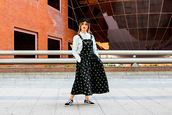 madame rosa,blogger,shirt,dress,shoes,hat,sneakers,vans,fall outfits