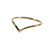 Gold Wishbone Above Knuckle Ring | The Bohemian Collective