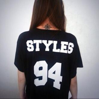 t-shirt graphic tee styles harry styles one direction 94