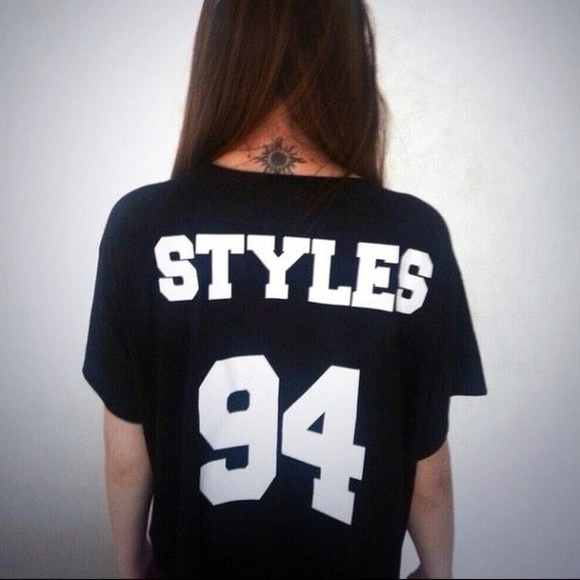 t-shirt harry styles one direction graphic styles 94