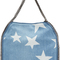 Stella mccartney - blue denim falabella stars tote