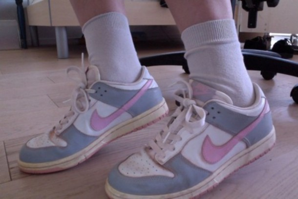 shoes pastel nike trainers sneakers pale