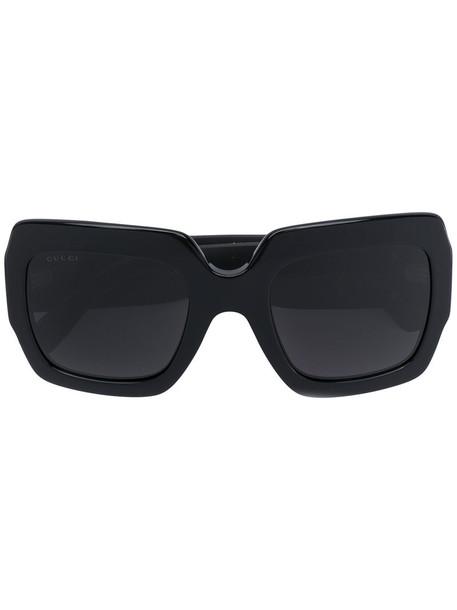 Gucci Eyewear women plastic sunglasses black
