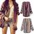 Knit Strick Jacke Pulli Pullover Boho Blogger warm | eBay