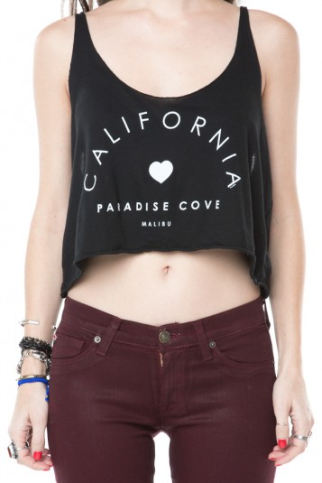 Brandy ♥ Melville | Dafne Paradise Cove Tank - Clothing ($14.00) - Svpply