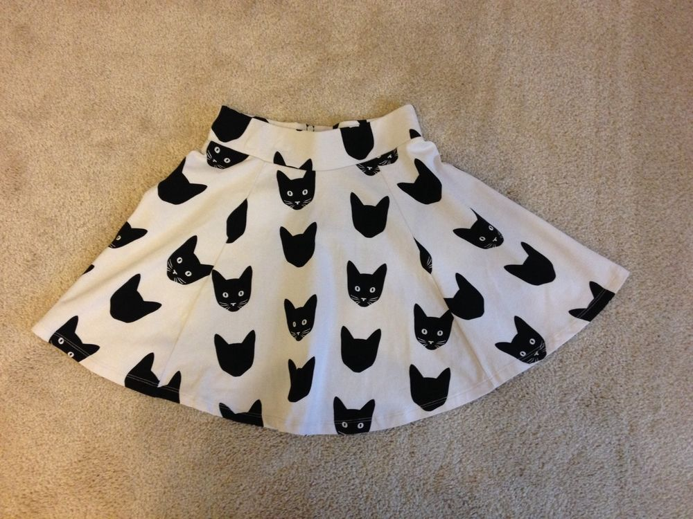 H M Divided Cat Skirt | eBay