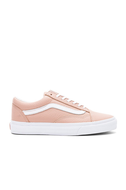 VANS leather tan shoes