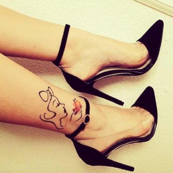 high heels clear
