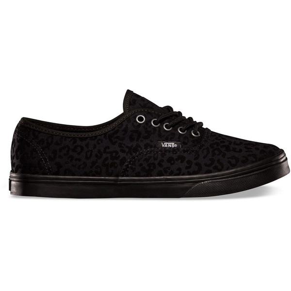 VANS Cheetah Authentic Lo Pro Womens Shoes - Polyvore