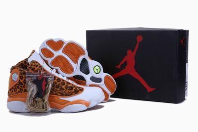 Jordan 13 leopard print