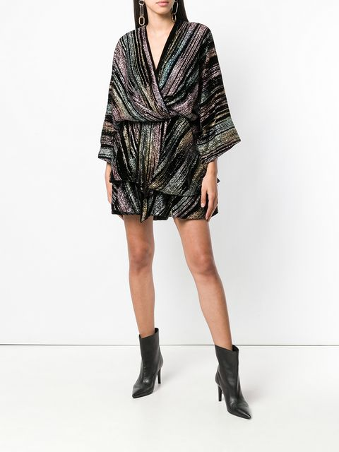 Zadig&Voltaire Fashion Show Ruffle wrap-style Dress - Farfetch