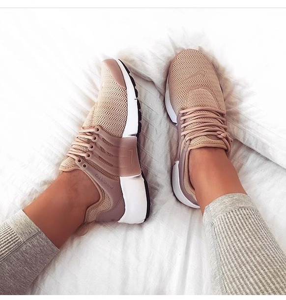 shoes nude nike sneakers brown nike nike sneakers tan coloured nike shoes tan shorts beige nike