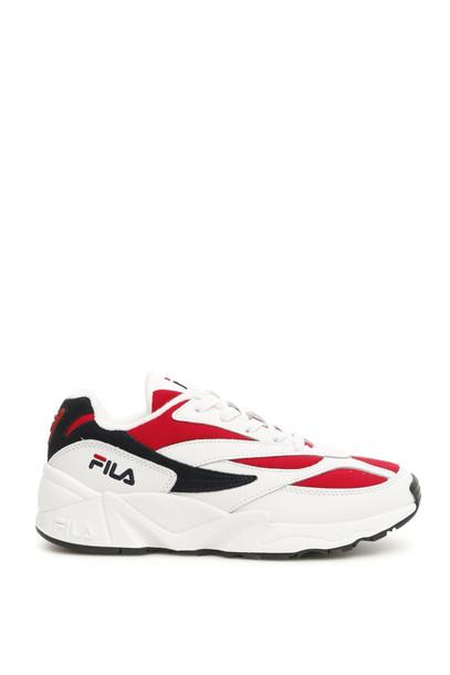 Fila Low Venom Heritage Sneakers in navy / red / white