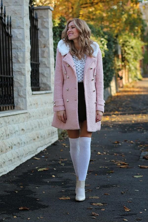 fashion spot coat shirt skirt shoes