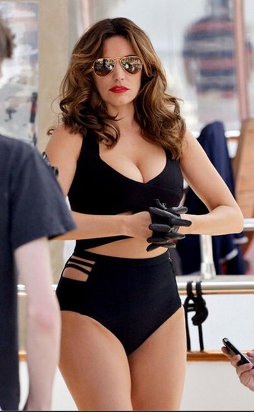 b61ccc7ce10 Aliexpress.com   Buy S XL XXL XXXL Plus Size Bikini High Waist Swimsuit  Push Up Women Black ...