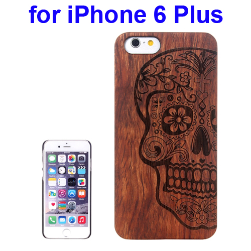 Protective Rosewood Wood Paste Pc Hard Case For Iphone 6