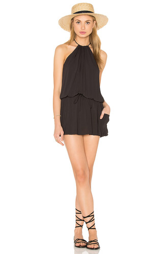 dress halter dress black