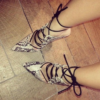 heels snake print pointed toe strappy shoes pointed toe pumps