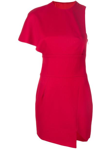 alexandre vauthier dress mini dress mini women wool red