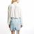 Nina Cream Long sleeve shirt - Women's Tops Glamorous - 44613