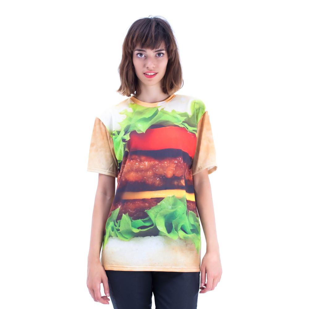 Hamburger T-Shirt / Mr. Gugu & Miss Go