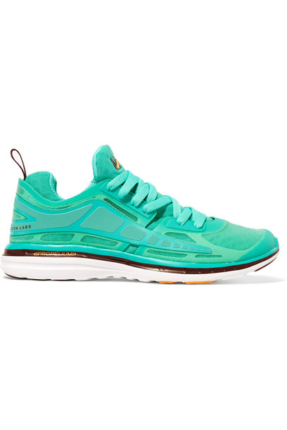 mesh sneakers mint shoes
