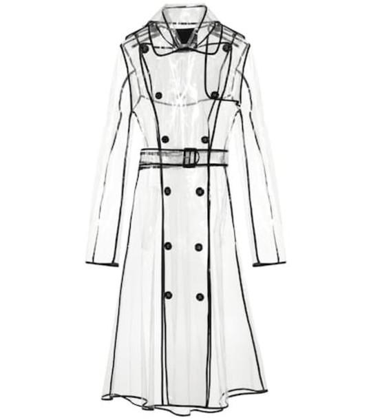 Dorothee Schumacher Transparent Veil coat in neutrals