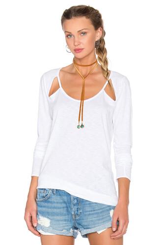 long white top