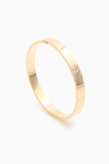 LoveMelrose.com From Harry & Molly | Designer Look Bracelet - Gold