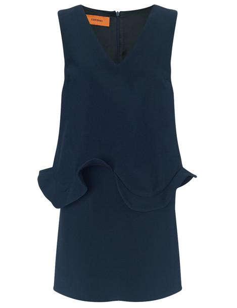 Coperni Femme dress mini dress mini navy