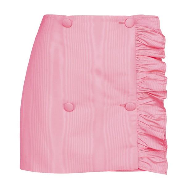 MSGM skirt mini skirt mini asymmetrical ruffle