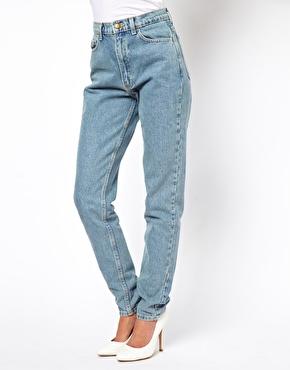American apparel high waist jean at asos