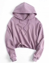 sweater,girly,purple,lilac,hoodie,crop,cropped,cropped sweater