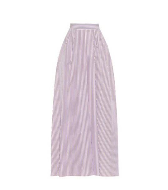 Rochas skirt maxi skirt maxi cotton