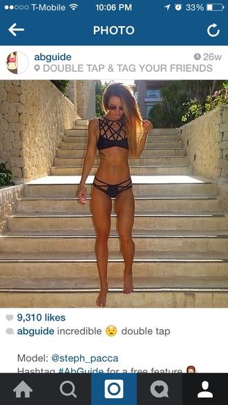 swimwear summer bikini bikini top bikini bottoms black bikini bikini tops bikini bottom