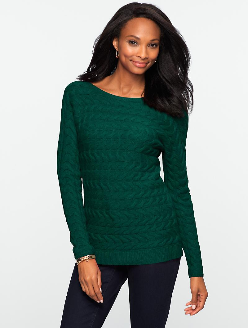Talbots - Horizontal Cable Sweater