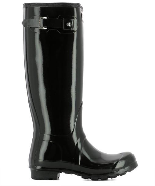 Hunter black shoes