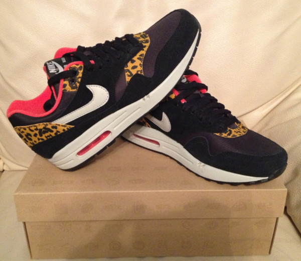Nike Wmns Air Max 1 319986 026 NSW Running Leopard Pack