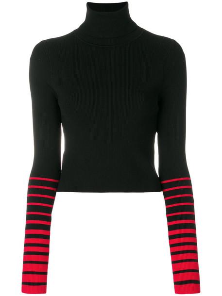 Tommy hilfiger sweater women spandex black