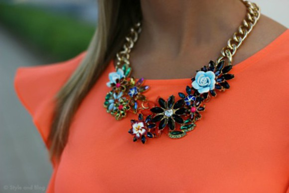 jewels swag style necklace