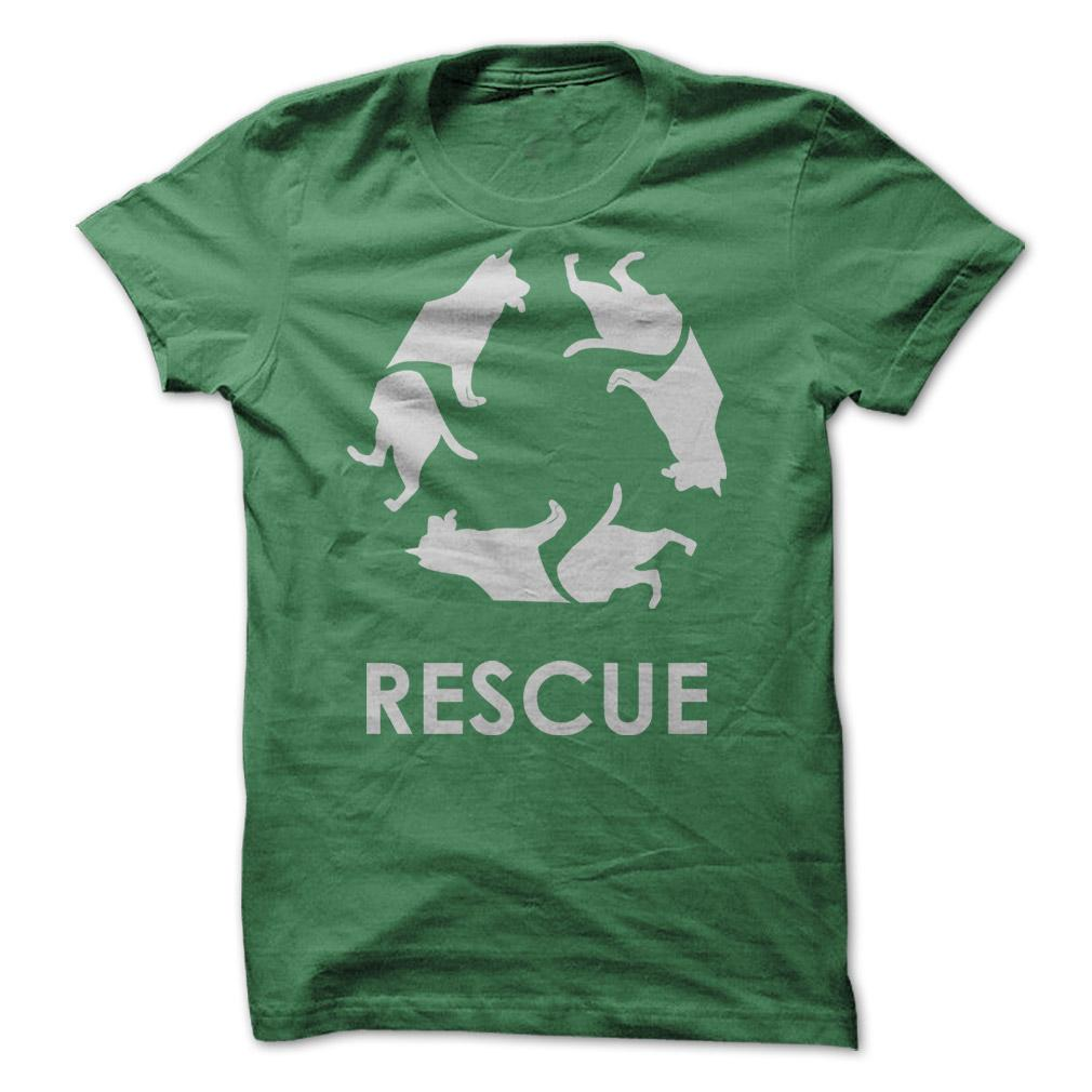 Dog Rescue T-Shirt & Hoodie