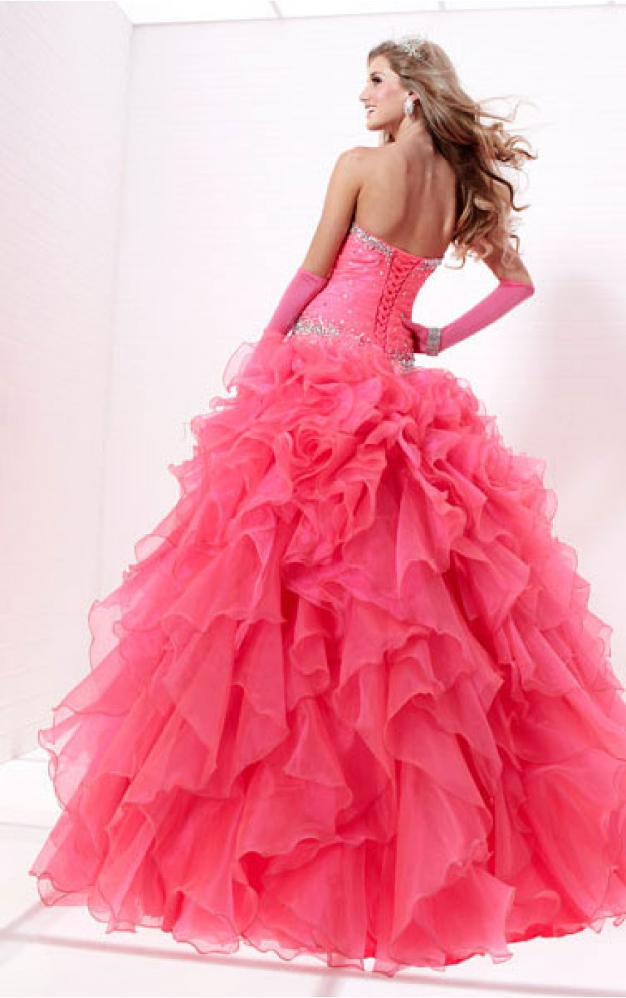 Debs Dresses Online Ireland – Buy Cheap Pink Ball Gown Floor-length Strapless Dress, Discount Dresses For Women Sale