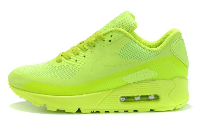 Nike 2011 Air Max Shoes 90 Hyperfuse Neon Yellow [air80max1066] - $72.08 : Nike max air, Nike air max 2012