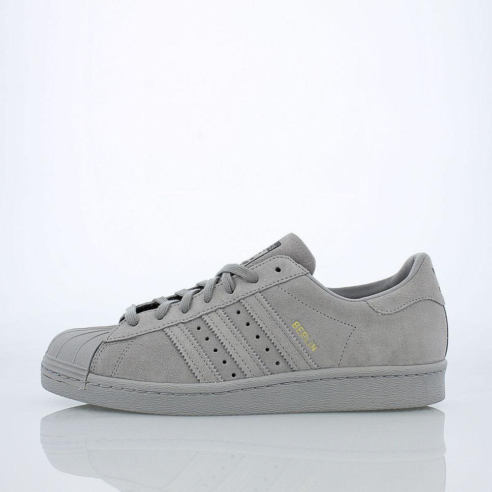 new 11 5 adidas originals superstar 80s city series berlin b32661 granite gray. Black Bedroom Furniture Sets. Home Design Ideas