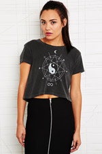 Truly Madly Deeply Infinite Skies Crop Top at Urban Outfitters