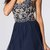 Cute Beaded Swirl Short Blue Graduation Dresses KSP408 [KSP408] - £101.00 : Cheap Prom Dresses Uk, Bridesmaid Dresses, 2014 Prom & Evening Dresses, Look for cheap elegant prom dresses 2014, cocktail gowns, or dresses for special occasions? kissprom.co.uk offers various bridesmaid dresses, evening dress, free shipping to UK etc.