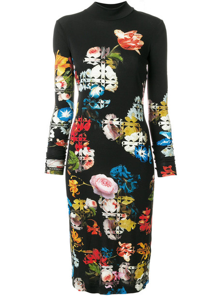 PREEN BY THORNTON BREGAZZI dress women spandex black