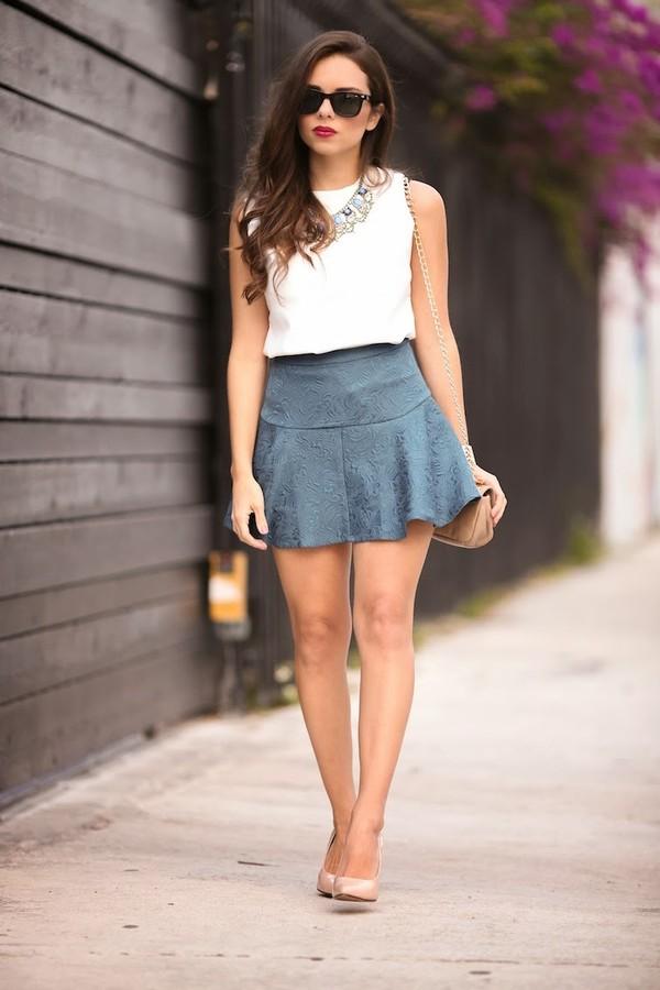 nany's klozet skirt shirt jewels shoes bag sunglasses