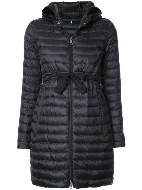 moncler jacket fur women fit black